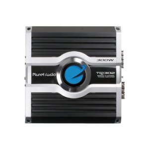 Planet Audio TQ302 75 Watts x 2 RMS MOSFET Power Two-Channel Power Amplifier