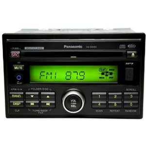 Brand NEW Panasonic Cqc5800u In-dash Double Din Car Cd/mp3/xm Am/fm Radio/usb Receiver w/ 45x4 Watt Amp, Front Aux Input and Usb Input
