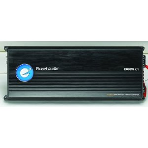 Planet Audio BB1400.1 1900 Watts 1-OHM Stable Max Power Class D Monoblock Power Amplifier