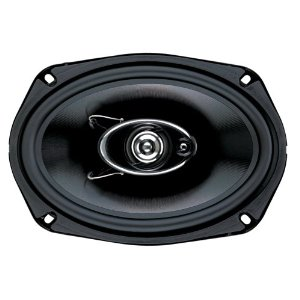 Boss Audio D69.3 3-Way 6x9-Inch Diablo Speaker - Single (Black)