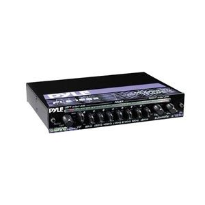 PYLE PLE755S 7-Band Passive Equalizer with Subwoofer Crossover and Bass Boost