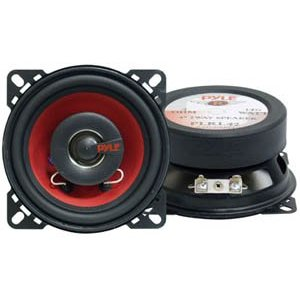 PYLE PLRL42 4-Inch 140 Watt Two-Way Speakers