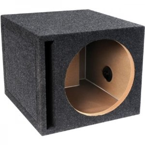 Atrend E12Sv B Box Series 12-Inch Single Vented Subwoofer Enclosure