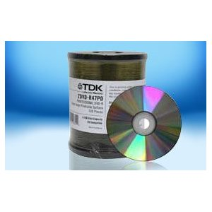 TDK - 100 x CD-R - 700 MB ( 80min ) 52x - printable inner hub - storage media