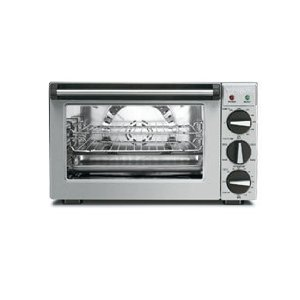 Waring WCO250 Commercial 1/4 Size Countertop Convection Oven With Rotisserie - 120V