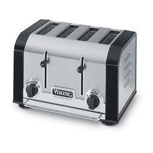 Viking VT401BK Professional Black Toaster 4-slice