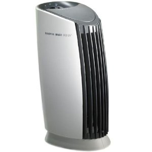 Sharper Image SI719 Tabletop Silent Air Purifier with Ionic Breeze