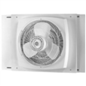 Air King 9155 Window Exhaust Fan With Storm Guard Feature