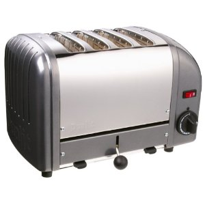 Dualit 4-Slice Toaster, Charcoal