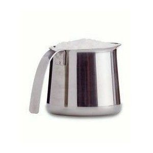 Krups stainless steel frothing pitcher, 12oz.