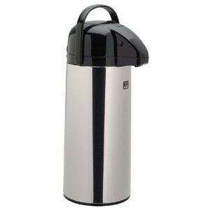 Zojirushi 2.45-Liter Brew-Thru Air Pot, Polished Stainless Steel