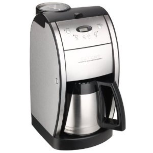 Factory-Reconditioned Cuisinart DGB-600BC Grind and Brew Coffeemaker, Brushed Chrome
