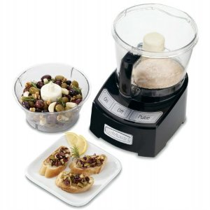 Cuisinart 12-Cup Food Processor - Black, White