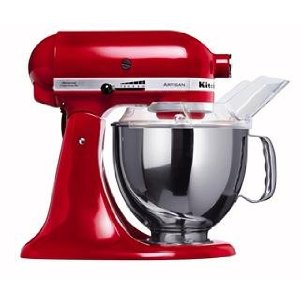 Kitchen Aid 5KSM150 Stand Mixer Red - 220 Volts Only!