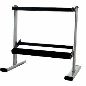 Cap Barbell 25 Oval Two Tier Dumbbell Rack