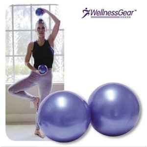 Weighted Balls by WellnessGear (1-Pair)