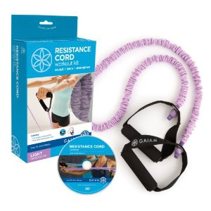 Gaiam Covered Resistance Cord Kit (Light)