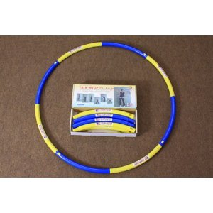 Weighted Sports Hula Hoop for Weight Loss - Trim Hoop P4 4 lbs. No Sponge, Large Size, Easy to Assemble/disassemble