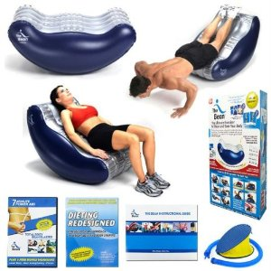 The Bean Deluxe Ultimate Abdominal Exerciser, Including DVD and Pump
