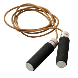 Weider Adjustable Weight Leather Jump Rope