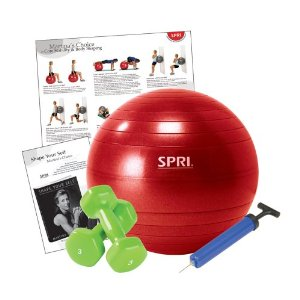 SPRI Martina Navratilova's Shape Yourself Core Stability Kit