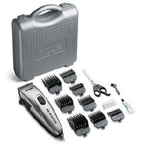 Andis PM-1 23410 15 Piece Deluxe Pet Clipper Kit with Case