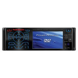 Power Acoustik PTID4007 AM/FM/MP3/DVD w/3.6 TFT PTID-4007
