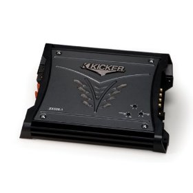 Kicker 08ZX5001 ZX-Series 500-Watt Class D Mono Subwoofer Amplifier