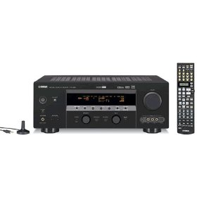 Yamaha HTR-5890 7.1-Channel A/V Surround Receiver (Black)