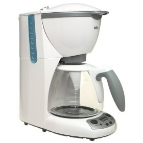 Braun KF580 AromaDeluxe 10-Cup TimeControl Coffemaker