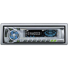 Kenwood 45-Watt Sirius� Satellite Radio-Ready Cassette Receiver with Detachable Faceplate and Two Pre-Amp Outputs (KRC-435)