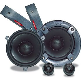 Boston Acoustics SX60 - Car speaker - 65 Watt - 2-way - component