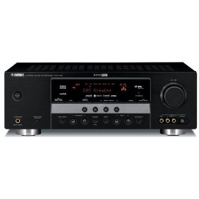 Yamaha HTR-6140BL 525 Watt 5.1-Channel Home Theater Receiver