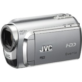 Jvc gzmg630sus silver camcorder 60gb 40xzoom laser