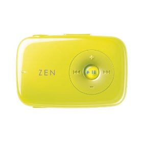 Creative Zen Stone 1 GB MP3 Player (Lime Green)