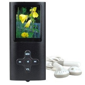 2GB USB 2.0 MP3 Digital Music/Video FM Player & Voice Recorder w/1.8