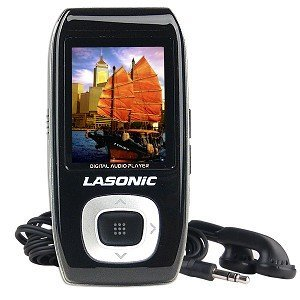 Lasonic VP-02SBK 2GB USB 2.0 MP3 Player w/FM/Voice (Black)