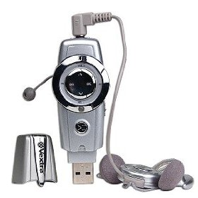 Vextra VX4001 128MB USB 2.0 MP3 Player w/Voice (Silver)