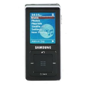 Samsung YP-Z5AB 4 GB Digital Audio Player (Black)