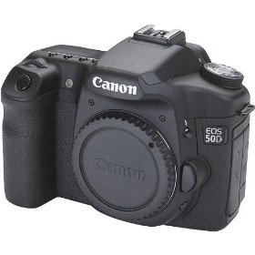 Canon EOS 50D 15.1MP Digital SLR Camera (Body Only)