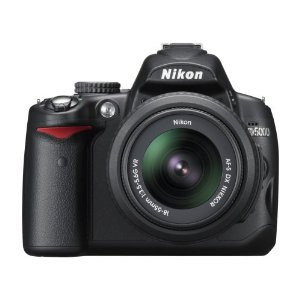 Nikon D5000 12.3MP DX Digital SLR Camera with 18-55mm f/3.5-5.6G VR and 55-200mm f/4-5.6G VR Lenses and 2.7 inch Vari-angle LCD
