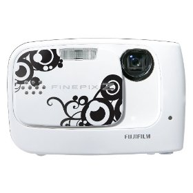 Fujifilm FinePix Z30 10 MP Digital Camera with 3x Optical Zoom and 2.7 inch LCD (Whirl White)