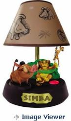 Tm 026131 lion king lamp animated