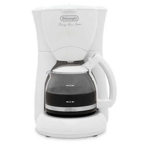Delonghi dc50w  white coffee maker 4cup