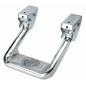 CARR 103992 Hoop II Multi-Mount Step XM3, Polished Aluminum, 1 Pair