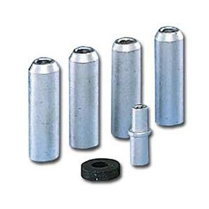 Abrasive Blasting Nozzle Silver Steel Set 1/4 Inch