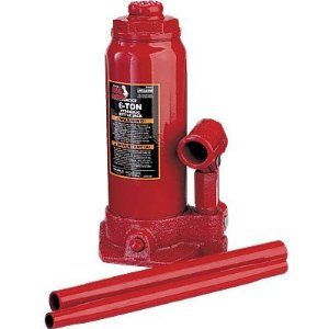 Torin Big Red Hydraulic Bottle Jack - 6-Ton, Model# T90603