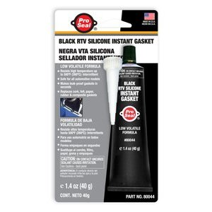 Pro Seal 80044 Black RTV Silicone Instant Gasket. 1.4 oz.