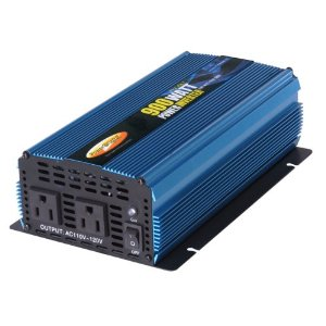 Power Bright PW900-12 Power Inverter 900 Watt 12 Volt DC To 110 Volt AC
