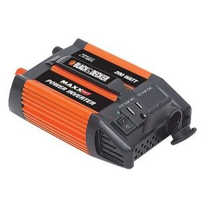 Black & Decker 200-Watt Inverter #VEC1045BD